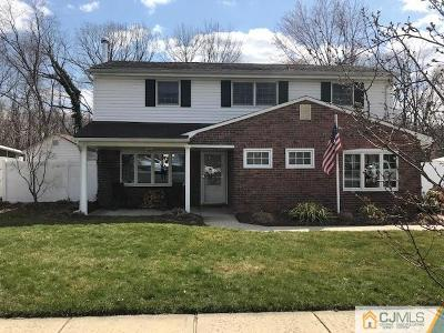 Old Bridge Single Family Home For Sale: 169 Cindy Street