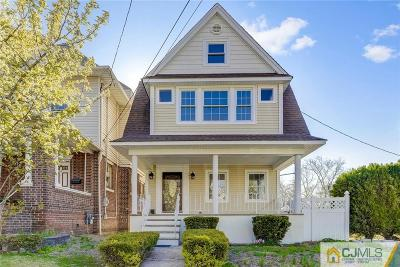 Perth Amboy Single Family Home For Sale: 90 High Street