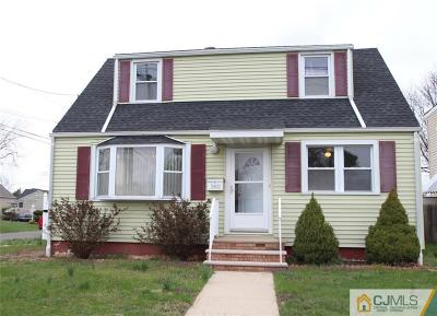 South Plainfield Single Family Home For Sale: 2401 Maple Avenue