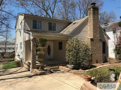 Edison Single Family Home For Sale: 66 Jersey Avenue