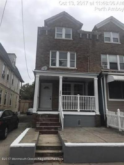 Perth Amboy Single Family Home For Sale: 158 Lewis Street
