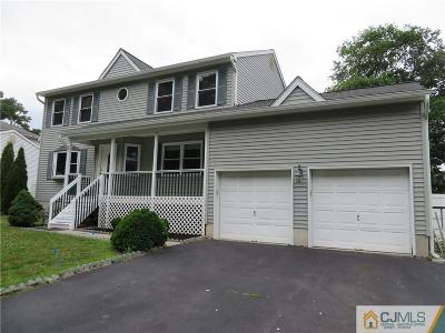 Sayreville Single Family Home For Sale: 16 Singer Court