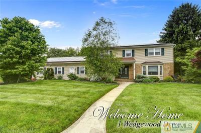 North Brunswick Single Family Home For Sale: 1 Wedgewood Drive