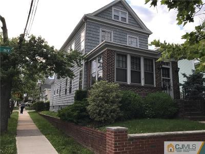 Perth Amboy Single Family Home For Sale: 519 Groom Street