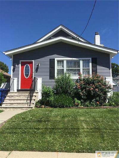 Fords Single Family Home For Sale: 72 Hoy Avenue