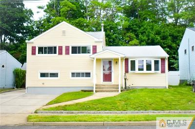Sayreville Single Family Home For Sale: 98 Albert Drive