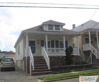 Perth Amboy Single Family Home For Sale: 297 Grove Street