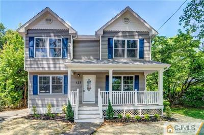 South Plainfield Single Family Home For Sale: 125 Rahway Avenue