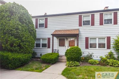 Metuchen Condo/Townhouse For Sale: 169 Rose Street