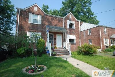 Rahway Single Family Home For Sale: 368 Raleigh Road