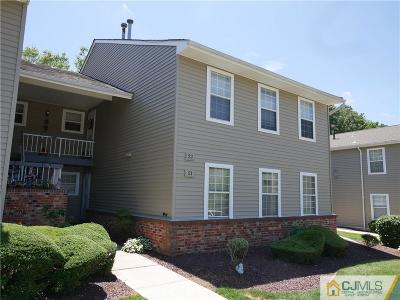 Old Bridge Condo/Townhouse For Sale: 22 Lindsey Circle #22