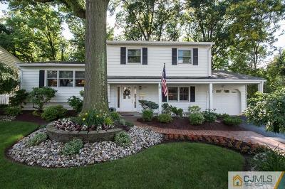 Edison Single Family Home For Sale: 8 Mayling Court