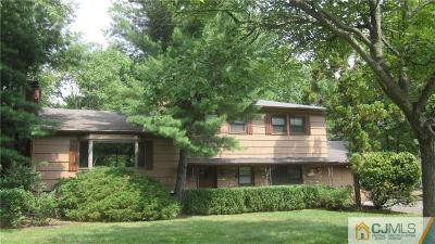 Metuchen Single Family Home For Sale: 20 Stoneham Place