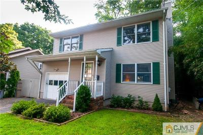 Metuchen Single Family Home For Sale: 158 Rose Street