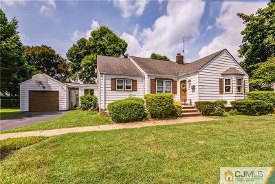 Piscataway Single Family Home For Sale: 400 Valmere Avenue