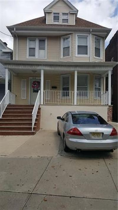 Perth Amboy Single Family Home For Sale: 128 Lewis Street