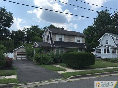 South Plainfield Single Family Home For Sale: 1514 Windrew Avenue