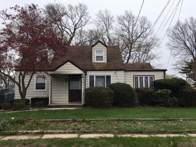 South Plainfield Single Family Home For Sale: 1223 S 9th Street