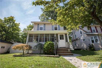 Rahway Single Family Home For Sale: 244 W Lake Avenue
