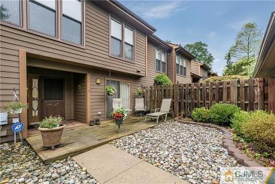 Edison Condo/Townhouse For Sale: 202 Hidden Hollow Court #T202