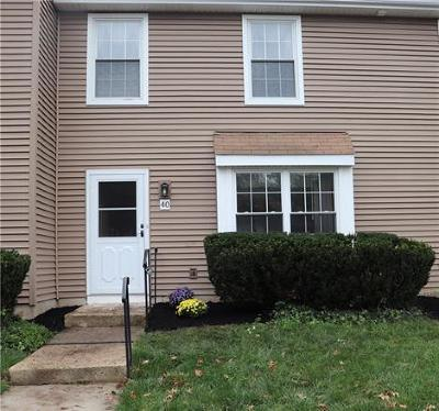 Somerset County Condo/Townhouse For Sale: 40 Canterbury Circle