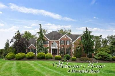 Somerset County Single Family Home For Sale: 4 Mansfield Road