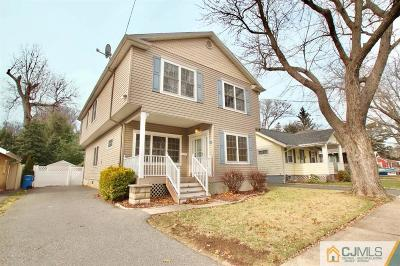 Metuchen Single Family Home For Sale: 10 Lawrence Street