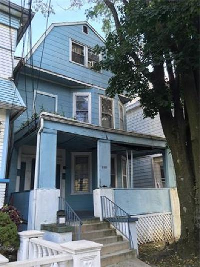 Perth Amboy Multi Family Home For Sale: 110 Madison Avenue