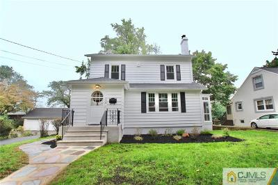 Single Family Home For Sale: 110 Valentine Street