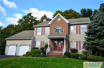 Piscataway Single Family Home For Sale: 37 Carriage Drive