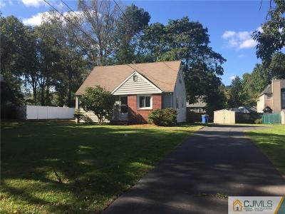 Somerset County Single Family Home Under Contract Cont to Show: 10 Edgar Avenue