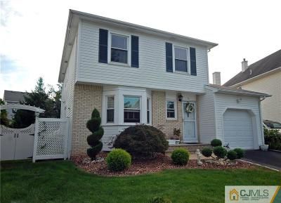 Sayreville Single Family Home For Sale: 56 Tanbark Drive