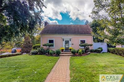 Colonia Single Family Home For Sale: 189 New Dover Road