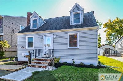 Colonia Single Family Home For Sale: 93 Inwood Avenue