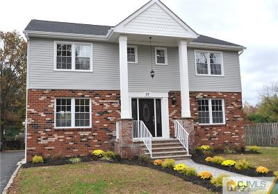 Fords Single Family Home For Sale: 28 Parsler Place