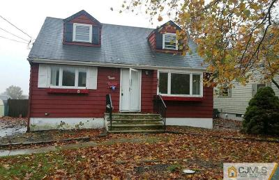 Sayreville Single Family Home For Sale: 12 Evelyn Terrace