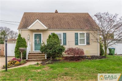 Edison Single Family Home For Sale: 53 Violet Place