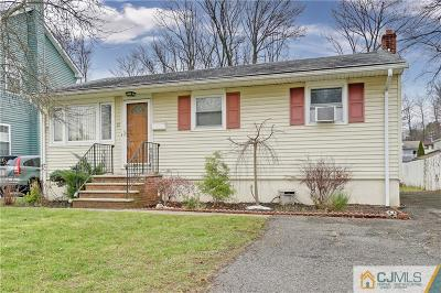 Colonia Single Family Home For Sale: 27 Hayes Avenue