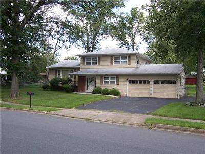 Edison Single Family Home For Sale: 16 Ventnor Drive