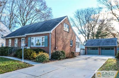 Fords Single Family Home For Sale: 26 Woodland Avenue