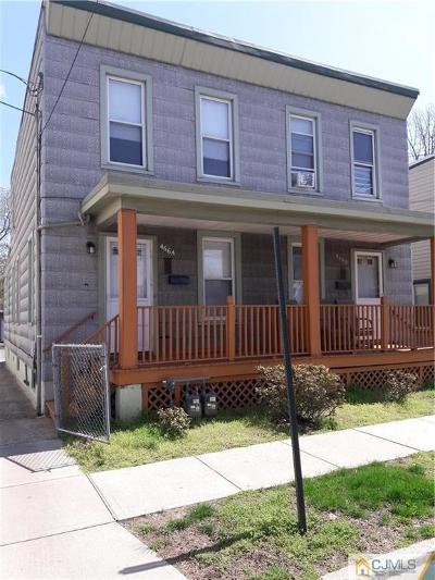 Perth Amboy Multi Family Home For Sale: 466 Division Street