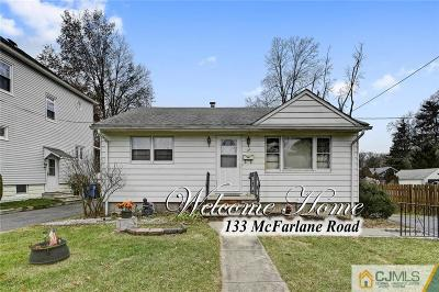 Colonia Single Family Home For Sale: 133 McFarlane Road