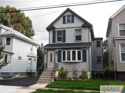 ROSELLE PARK Single Family Home For Sale: 313 Pershing Avenue