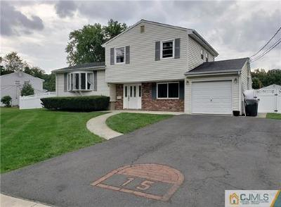 East Brunswick Single Family Home For Sale: 15 Snowden Road