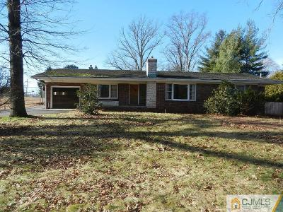 Somerset County Single Family Home For Sale: 281 Cedar Grove Lane