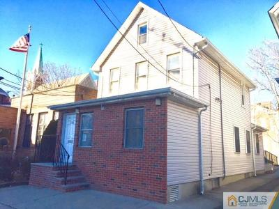 Perth Amboy Single Family Home For Sale: 100 Market Street
