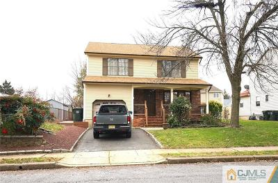 Colonia Single Family Home For Sale: 9 Central Street