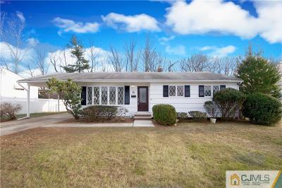 Edison Single Family Home For Sale: 9 Brookside Road