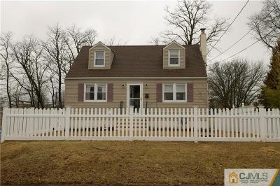 Piscataway Single Family Home For Sale: 78 Murray Avenue