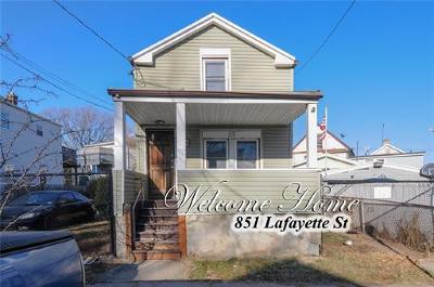 Elizabeth Single Family Home For Sale: 851 Lafayette Street